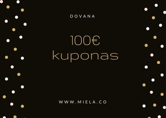 100 eur kuponas miela.co