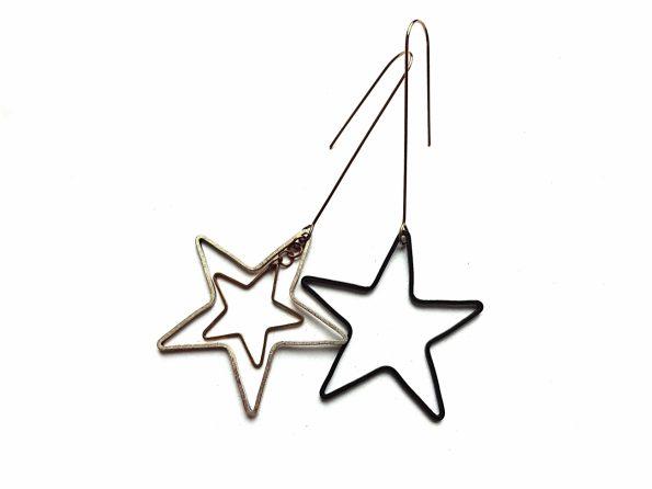 Auskarai žvaigždės